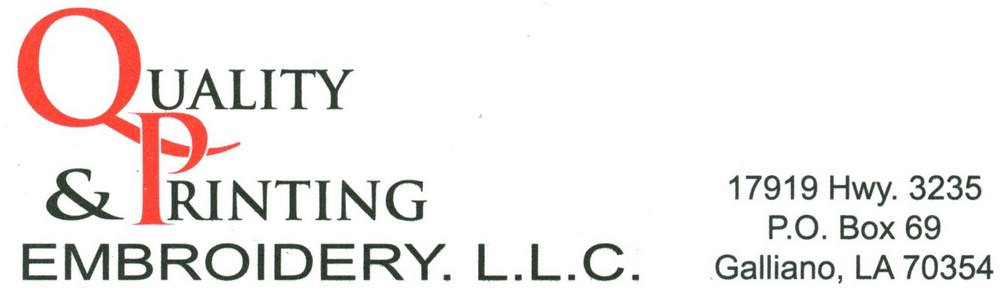 Quality Printing & Embroidery, LLC